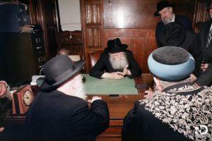 """וידיאו נדיר: יחידות הרבנים הראשיים – י""""א אייר תשמ""""ט"""